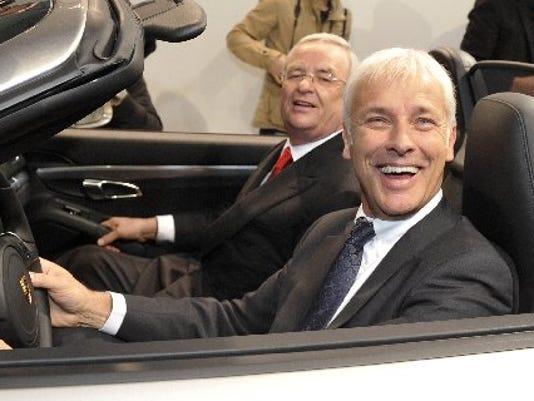 Volkswagen-CEOs