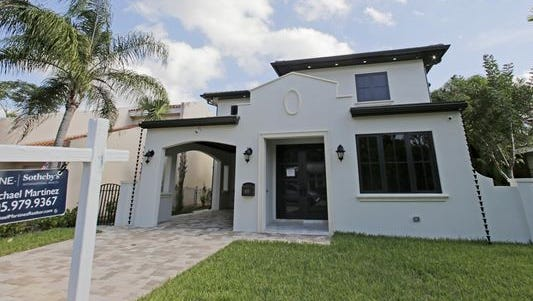 A home for sale in Coral Gables, Florida.