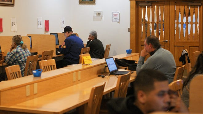 Public internet access is among the services provided at Deming's Marshall Memorial Library.