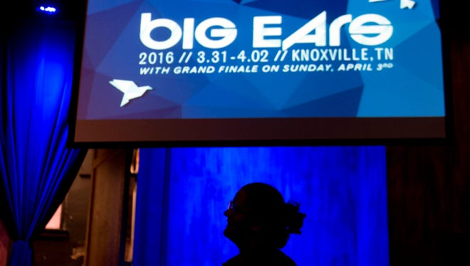 Guests attend the opening reception for Big Ears at the Square Room on Thursday, March 31, 2016. The 2018 festival is March 22-25.