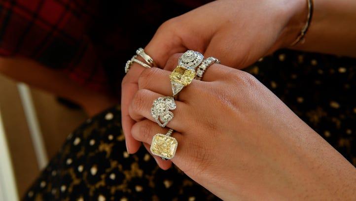Jaleesa Jones sampled a variety of Forevermark Diamonds,