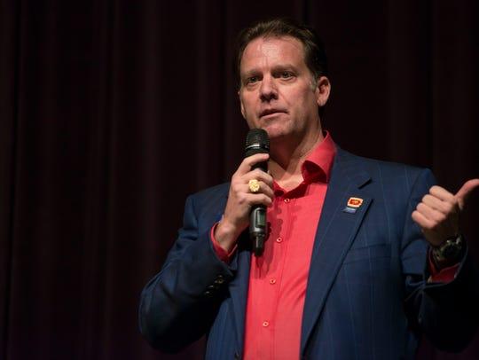 Colorado gubernatorial candidate Stephen Barlock answers