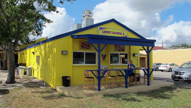 Lucky Dawgs 2, a Chicago-style hot dog stand, recently opened at 12435 Collier Blvd., just south of Green Boulevard in Golden Gate.
