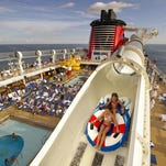 Disney Cruise Line announces that while it will move the Disney Magic and Wonder to different locations for the Spring 2015 itinerary, the Dream, pictured, and Fantasy will remain sailing from Port Canaveral.
