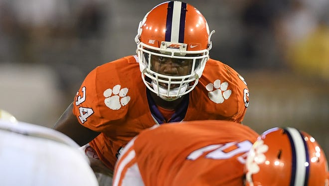 Clemson linebacker Kendall Joseph (34) has the intangibles needed to become leader of the defense, coordinator Brent Venables says.