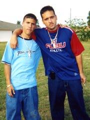 Alexis Sosa and his brother Michael Sosa