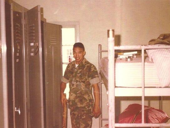 Elisa Camara's brother, USMC Sgt. Mecot Camara, was