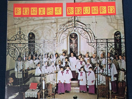 """Christ Church"" record album, 1974."