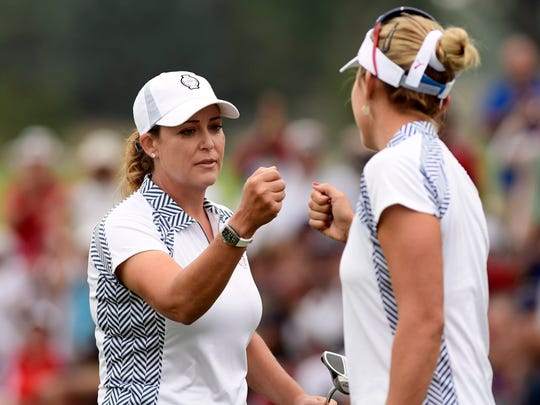 Cristie Kerr, a stalwart on the U.S. Solheim Cup team for years, may need a pick from captain Juli Inkster to make the team this year.