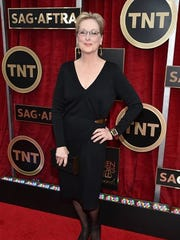 Vassar College graduate Meryl Streep.