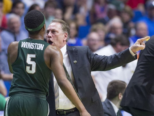 Michigan State vs. Kansas men's basketball
