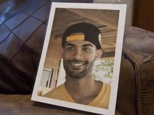 Twenty-three-year-old Daniel Graves, who was fatally