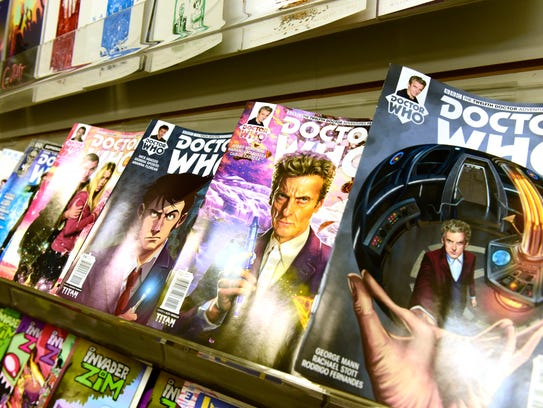 Doctor Who comics are among the titles on sale at Rupp's