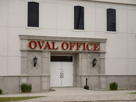 The Oval Office, 1100 Main St. A group that operates