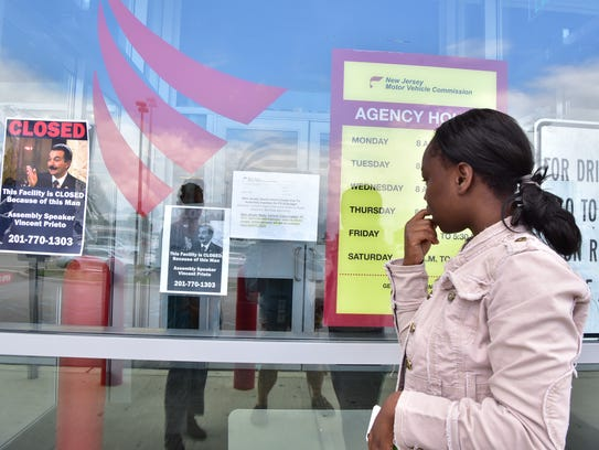 Akosua Frimpong of Bogota came to Lodi MVC to get her