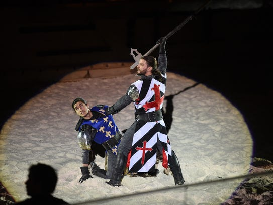 Leigh Cornder, Medieval Times writer and director,