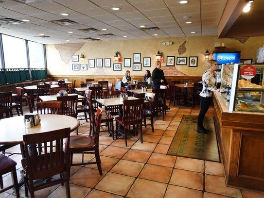 Interior photo at Esposito's Pizzeria in Mahwah on/03/28/18.