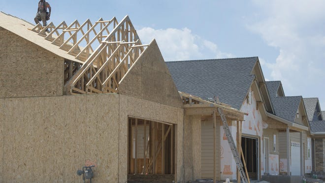 Construction continues on Friar Tuck Court on the north side of Fort Collins in this June 4 file photo. The city is updating its Affordable Housing Strategic Plan that will look at ways to maintain housing affordability in the city.