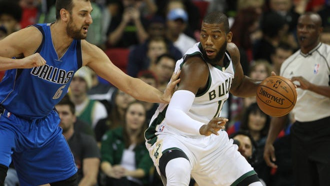 Greg Monroe has been the first man off the bench in the Bucks' center rotation this season.