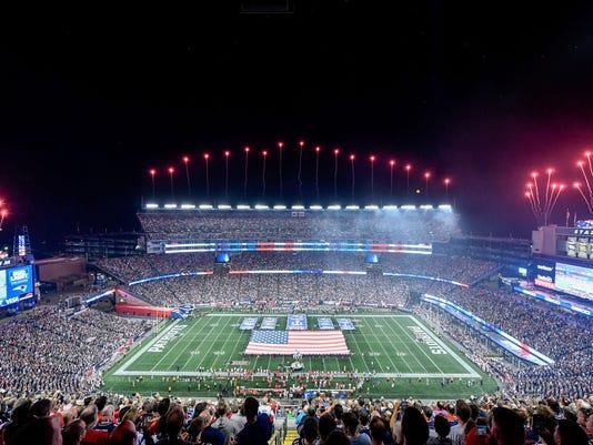 USP NFL: KANSAS CITY CHIEFS AT NEW ENGLAND PATRIOT S FBN NEP KC USA MA