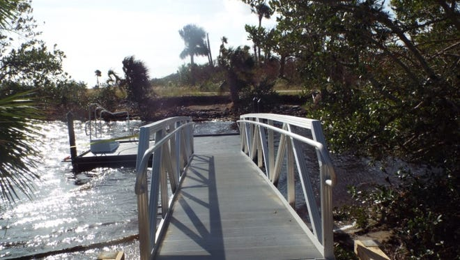Merritt Island National Wildlife Refuge officials recently completed new boat ramp, which includes facilities for those with mobility limitations.