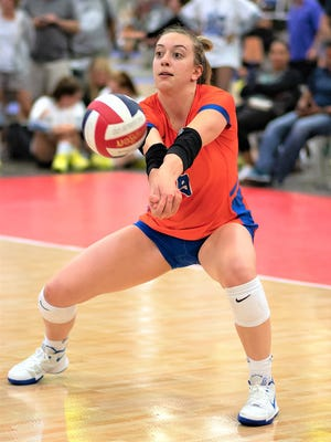 Jess Mruzik has been a standout for Legacy Volleyball Club's 16 Elite team this season.