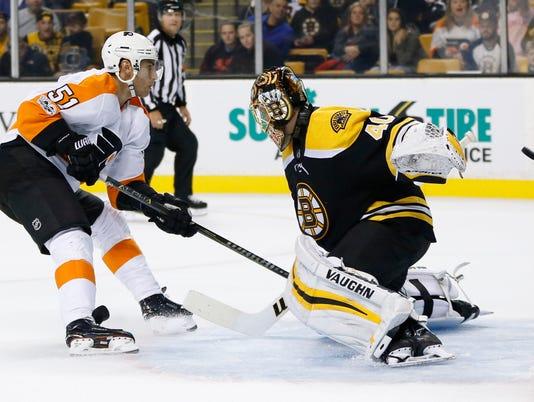 NHL: Preseason-Philadelphia Flyers at Boston Bruins