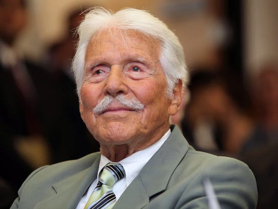 Actor Efrem Zimbalist Jr. starred in a short film that