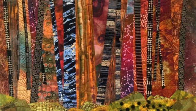 """Scorched"" by Sue Rasmussen."