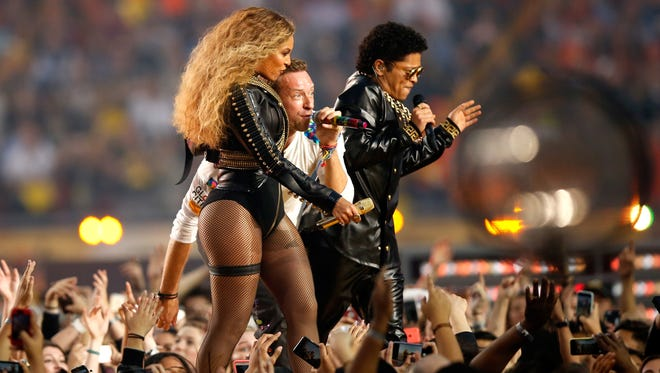 Coldplay served as the main act for Super Bowl 50, but were overshadowed by fellow performers Beyonce and Bruno Mars.