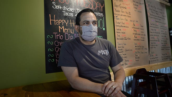 Burrito Hub has reopened indoor dining after doing delivery during shutdown. Here, Hugo Montanez talks about the plans for his business.