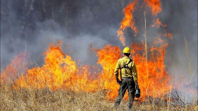 The Idaho wildfires of 2017 (Photo: Twitter screen shot)