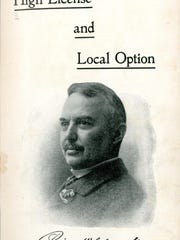 Percival Clement was a leading advocate for local option voting on liquor laws. This pamphlet was from his unsuccessful run for governor in 1902. He was then elected in 1918 when Vermont ratified the Prohibition amendment to the U.S. Constitution.