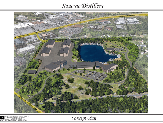 Proposed Sazerac distillery
