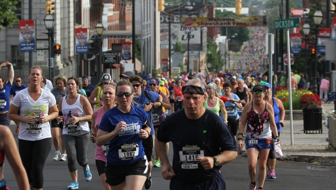 About 2,500 runners were expected to participate in last year's Shawshank Hustle 7K run.