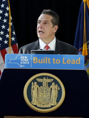 Gov. Andrew Cuomo hasn't offered an end-of-session agenda for the New York Legislative session, which ends Wednesday.