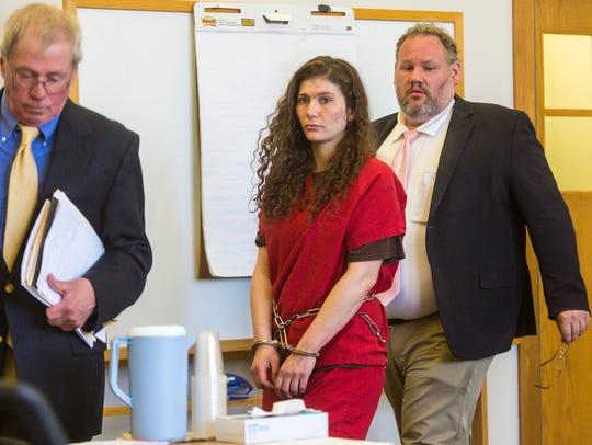Erika Guttilla appears in Vermont Superior Court in