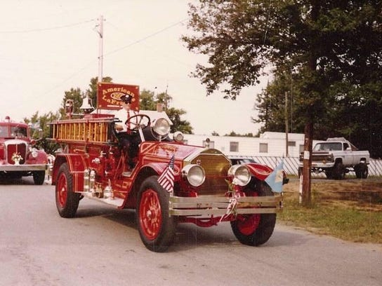 z 1922 - American LaFrance gtown