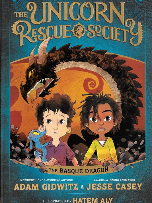 The Unicorn Rescue Society The Basque Dragon