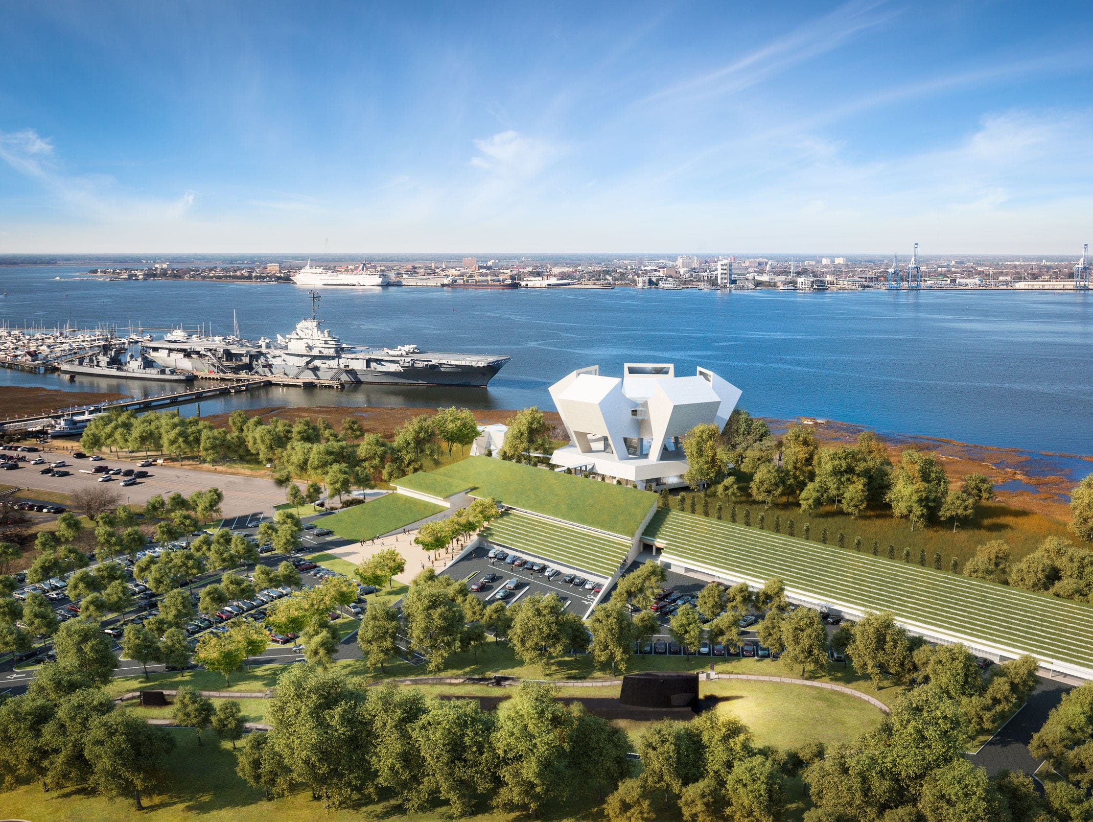 Design released for $98 million Medal of Honor museum