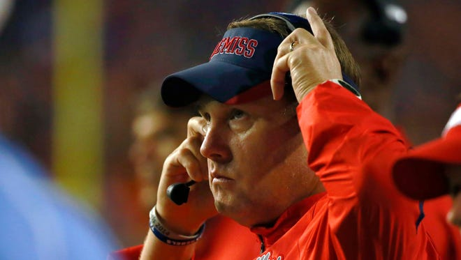 Ole Miss head coach Hugh Freeze has been impressed with Arkansas' defense.