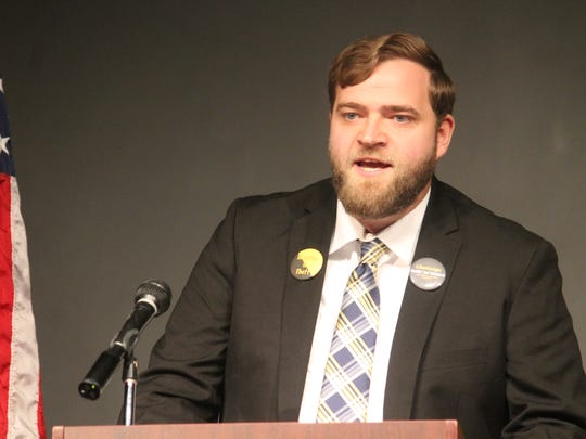 """Libertarian and Independent candidate Freddie """"Joe"""" Nichols III is running for the District 54 seat against incumbent Rep. James Townsend."""
