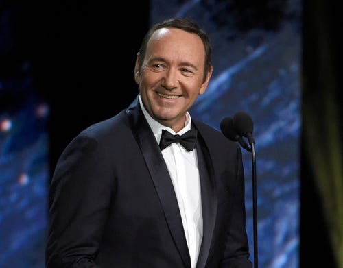Kevin Spacey under scrutiny in sex-crime case, says LA district attorney