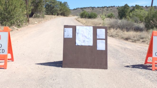 The Cameron Creek Prescribed Fire Closure was lifted Tuesday. It's within the Fort Bayard Wildlife Refuge.