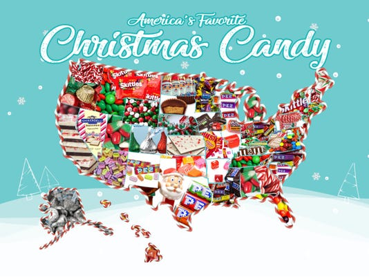 pez reindeer corn and other favorite christmas candies around the country - Christmas Candy Corn