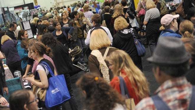 Women pack the aisles 2012 Nevada Women's Expo. The 2015 expo is March 28-29.
