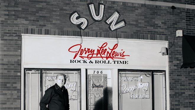 Jerry Lee Lewis 'Rock & Roll Time' album cover