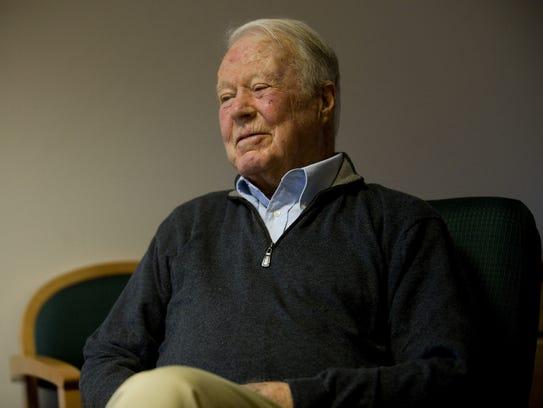 Former Vermont governor Philip Hoff in Burlington on