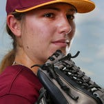 BPCC's Sarah Hudek talks about life as a college baseball pitcher.