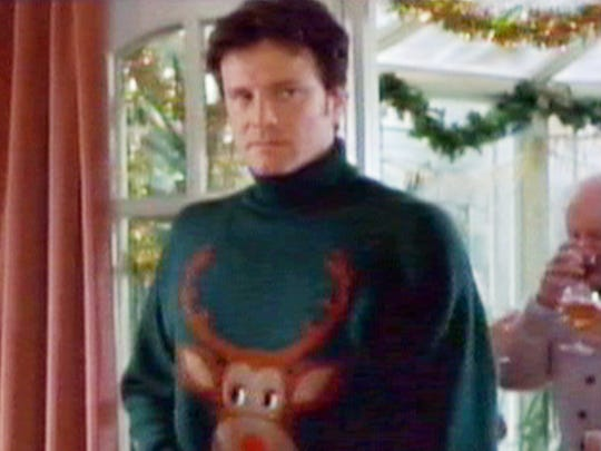 Colin Firth set the standard for appalling Christmas
